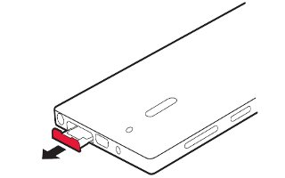 How To Insert SIM Card - Nokia Lumia 928