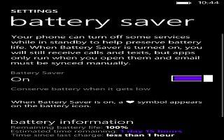 How To Improve Battery Life - Nokia Lumia 2520