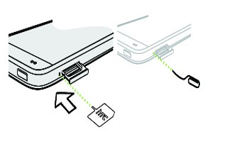 How To Insert SIM Card - HTC One Mini