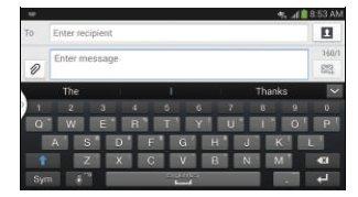 How To Enter Text Using Handwriting - Samsung Galaxy Mega