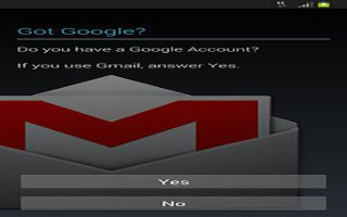 How To Create Google Account - Samsung Galaxy Mega