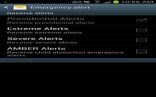 How To Use Emergency Alerts - Samsung Galaxy S4 Active