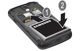How To Install Battery - Samsung Galaxy S4 Active