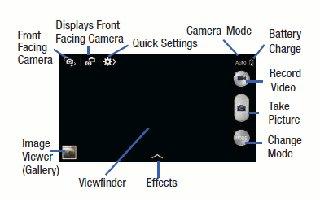 How To Use Camera - Samsung Galaxy Mega