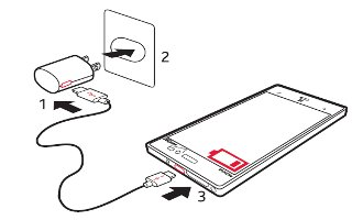 How To Charge Battery - Nokia Lumia 928
