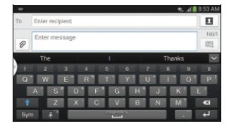 How To Enter Text Using Swype - Samsung Galaxy Mega
