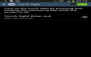 How To Use Torch Light - Samsung Galaxy S4 Active
