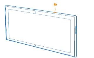 How To Lock Screen - Nokia Lumia 2520