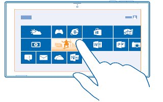 How To Use Photos Hub - Nokia Lumia 2520