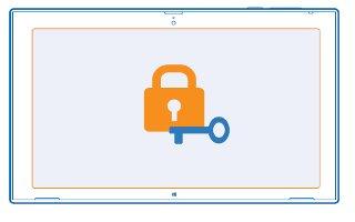 How To Use Security - Nokia Lumia 2520