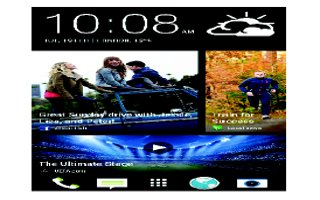 How To Use Homescreen - HTC One Max