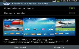 How To Use Home Screen Mode - Samsung Galaxy S4 Active
