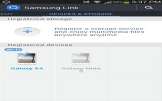 How To Use Samsung Link - Samsung Galaxy S4 Active