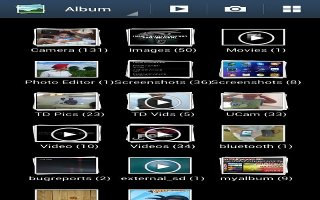 How To Use Gallery - Samsung Galaxy S4 Active