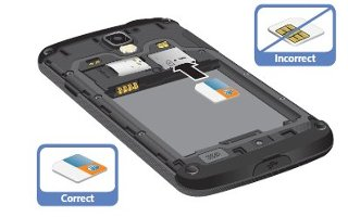 How To Install SIM Card - Samsung Galaxy S4 Active