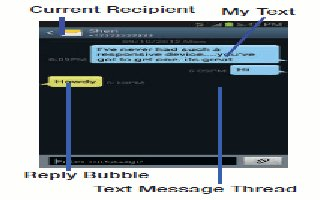 How To Use Message Threads - Samsung Galaxy S4 Active