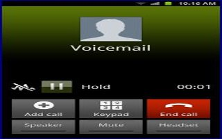 How To Use Voice Mail - Samsung Galaxy S4 Active