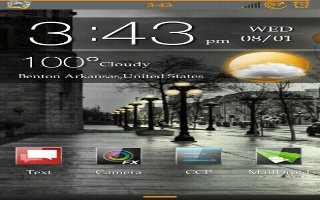 How To Use Desk Clock - Samsung Galaxy S4 Active