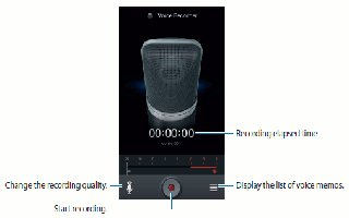 How To Use Voice Recorder - Samsung Galaxy Mega