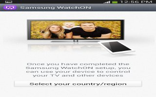 How To Use WatchON - Samsung Galaxy Mega
