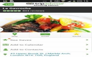 How To Use TripAdvisor - Samsung Galaxy Mega