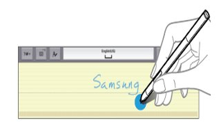 How To Enter Text Using Handwriting - Samsung Galaxy Note Pro