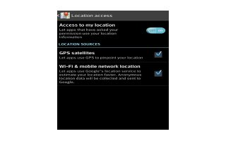 How To Use Location Access - LG G Flex