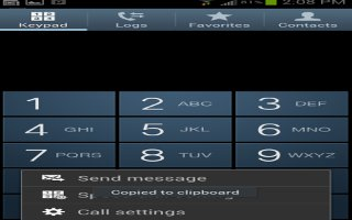 How To Customize Call Settings - LG G Flex