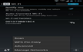 How To Use WiFi Settings - LG G FLex