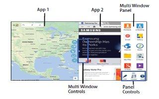How To Use Multi Window - Samsung Galaxy Tab Pro