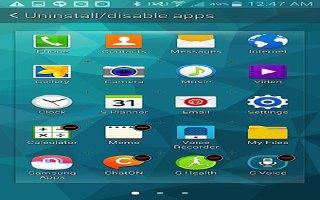 How To Configure Samsung App - Samsung Galaxy S5