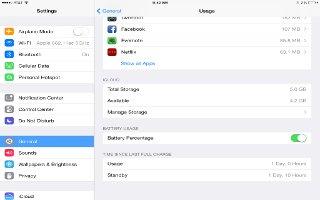 How To Improve Battery Life - iPad Mini 2