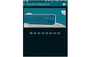 How To Use Fingerprint Scanner - Samsung Galaxy S5