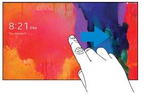 How To Lock And Unlock - Samsung Galaxy Tab Pro