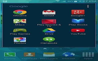 How To Use Hangouts - Samsung Galaxy S5