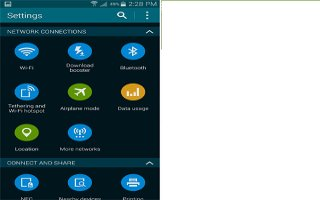 How To Use Mobile Networks - Samsung Galaxy S5