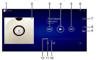 How To Play Music App - Sony Xperia Z2 Tablet