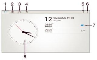 How To Use Alarm - Sony Xperia Z2 Tablet