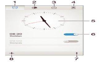 How To Use Alarm - Sony Xperia Z2