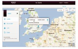 How To Find Device - Sony Xperia Z2