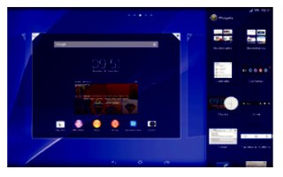 How To Use Widgets - Sony Xperia Z2 Tablet