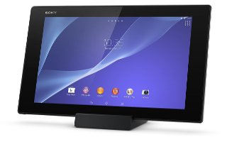 How To Use Touch Screen - Sony Xperia Z2 Tablet