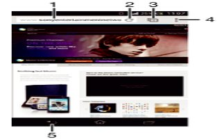 How To Use Browser - Sony Xperia Z2