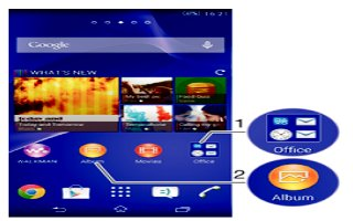 How To Use Shortcuts - Sony Xperia Z2