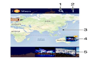 How To View Photos On Map - Sony Xperia Z2