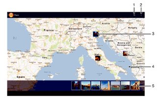 How To View Photos On Map - Sony Xperia Z2 Tablet