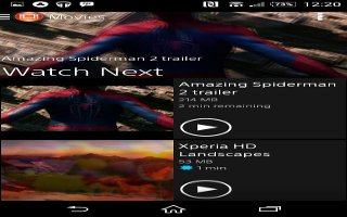 How To Use Video Player - Sony Xperia Z2