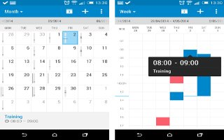 How To Use Calendar App - HTC One M8