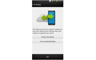 How To Backup - HTC One M8