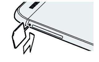 How To Insert Nano SIM Card - HTC One M8
